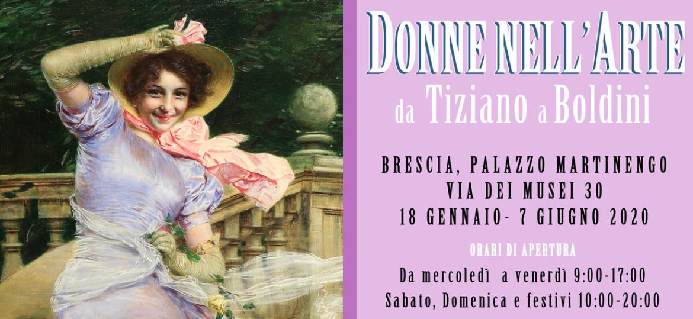 Donne nell'arte da Tiziano a Boldini – Palazzo Martinengo Brescia