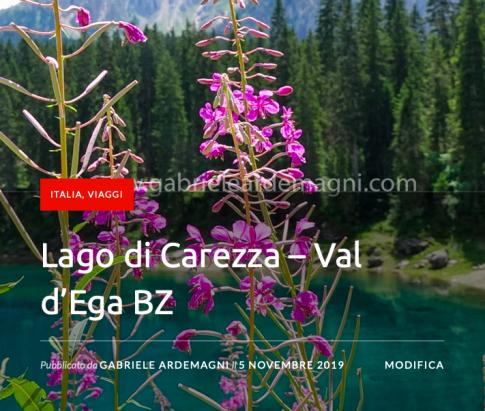Lago di Carezza – Val d'Ega BZ