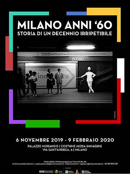MILANO ANNI '60 Storia di un decennio irripetibile Palazzo Morando | Costume Moda Immagine