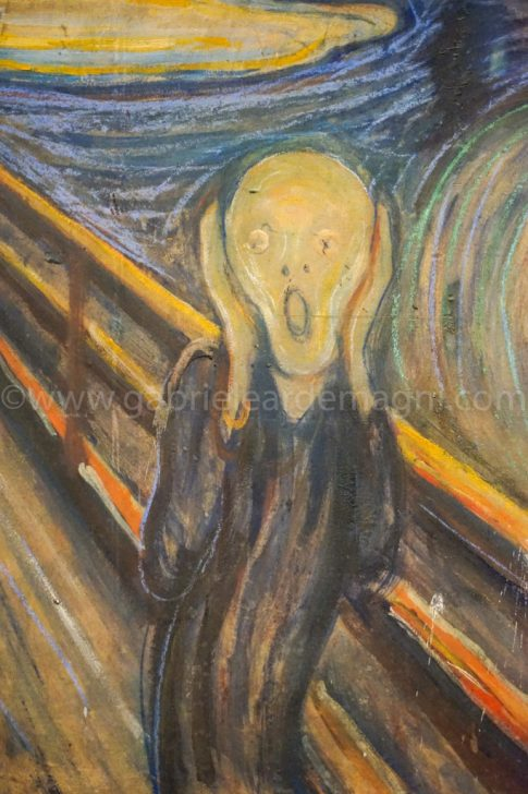 L'Urlo di Munch a voce alta sta sbiadendo !!!L'Urlo di Munch a voce alta sta sbiadendo !!!