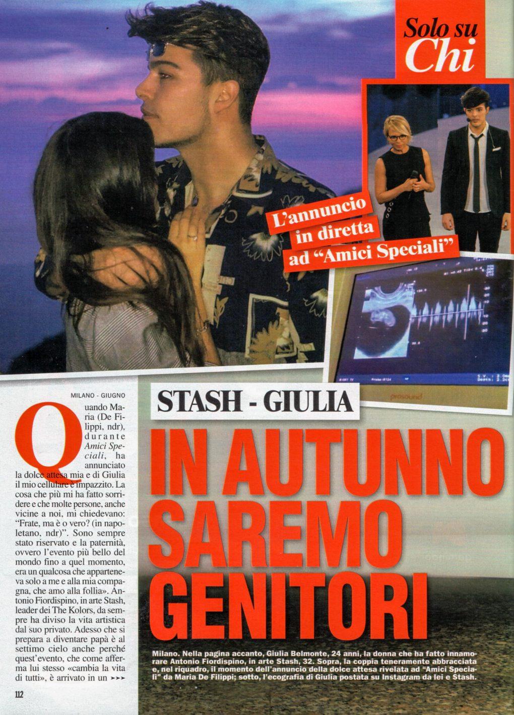 Chi Stash e Giulia Belmonte
